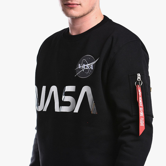 Alpha Industries NASA Reflective Sweater 178309 373