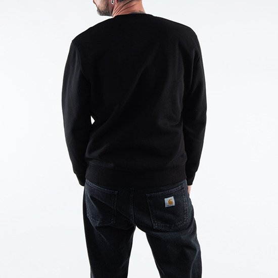 Carhartt WIP Commission Sweatshirt I028390 BLACK
