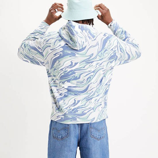 Levi's® Graphic Relaxed Boxtab Hoodie 38410-0000