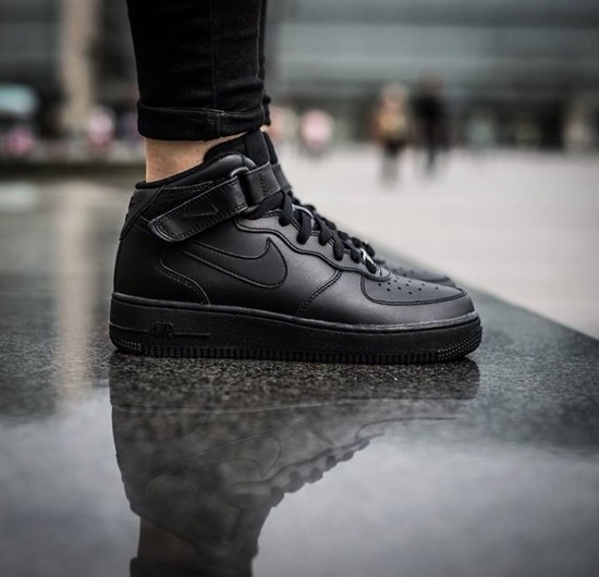 SNEAKER SHOES NIKE AIR FORCE 1 MID '07 315123 001