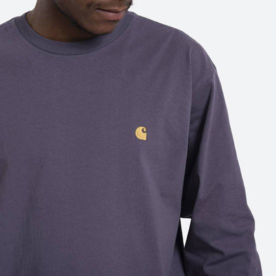 T-shirt Carhartt WIP S / S Chase T-Shirt I026392 PROVENCE/GOLD