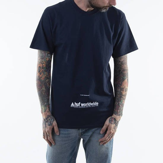 T-shirt HUF Taking Control S / S Tee TS01178 FRENCH NAVY